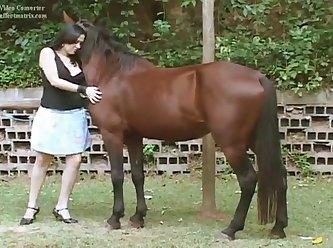 Ingrid And Horse 3 XXX