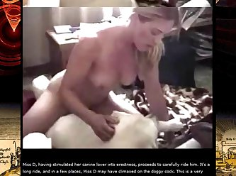 She Positioned Her Knees On Either Facet Of Male And Slowly Sank Down On His Cock.